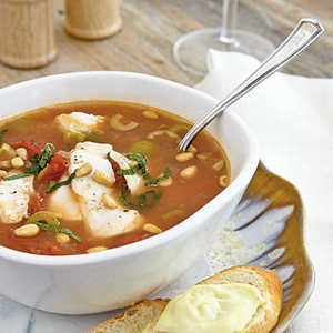 Sicilian Fish SoupRecipe
