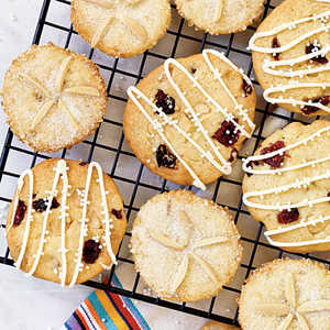Nantucket Cranberry-White Chocolate CookiesRecipe