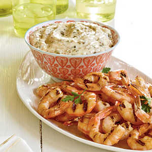 Grilled Shrimp with Remoulade Recipe