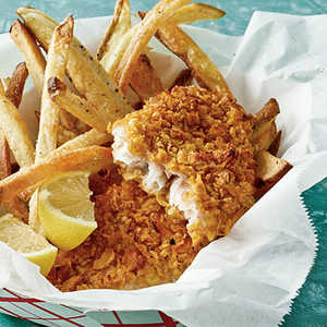 Crispy Fish-and-Chips Recipe