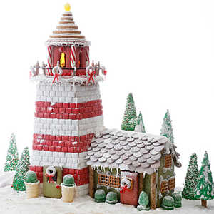 Gingerbread Lighthouse Recipe
