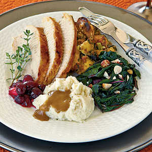 Molasses-Glazed TurkeyRecipe
