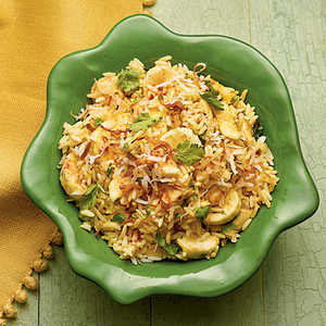 Coconut-Curry Bananas and RiceRecipe