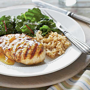 Spicy Chicken with Orange-Chipotle Sauce Recipe