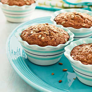 Whole Wheat Carrot-Nut Muffins Recipe