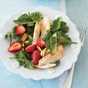 Grilled Chicken-and-Strawberry SaladRecipe