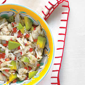 Crab-and-Avocado Salsa Recipe
