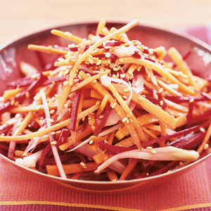 Beet, Carrot, and Fennel Slaw Recipe