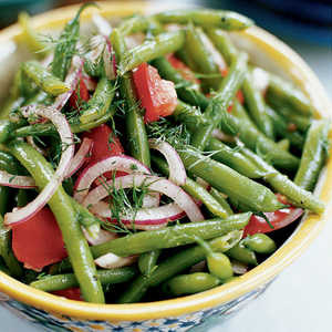 Marinated Green Beans and Tomatoes with DillRecipe