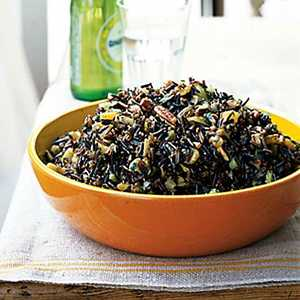 Wild Rice Salad with Dried Fruit and Orange-Sherry VinaigretteRecipe