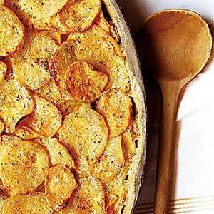 Two-Potato Gratin Recipe