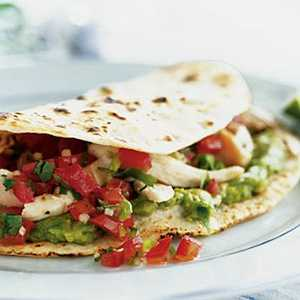 Spicy Backyard Barbecue Chicken FajitasRecipe