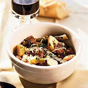 Lamb Stew with Early Spring VegetablesRecipe