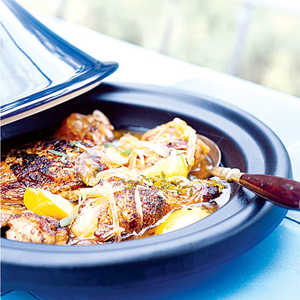 Chicken Tagine with Onions, Honey, and MintRecipe