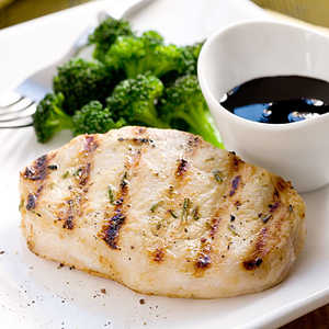 Grilled Pork Chops With Balsamic SyrupRecipe