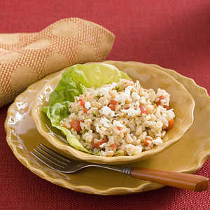 Herb-and-Pepper Brown Rice SaladRecipe
