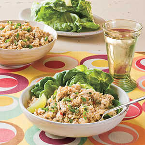 Sesame-Cilantro Chicken-and-Rice SaladRecipe