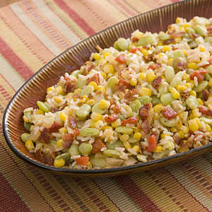Southern Succotash With RiceRecipe