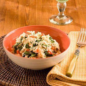Baby Spinach and Red Pepper RiceRecipe
