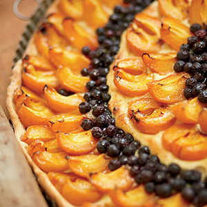Apricot-and-Blueberry TartRecipe
