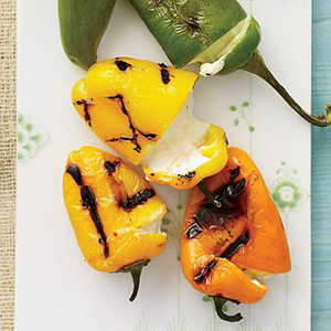 Cheese-Stuffed Grilled Peppers Recipe