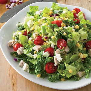 Chopped Salad with Grapes and Mint Recipe