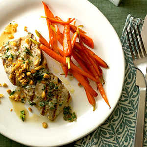 Mahimahi with Herbed White-Wine SauceRecipe