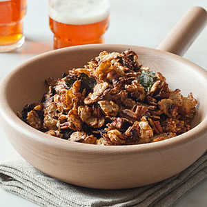 Asian Snack Mix with NoriRecipe