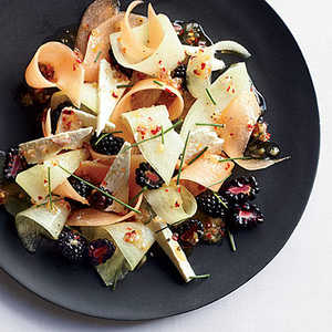 Melon, Berry and Feta Salad Recipe