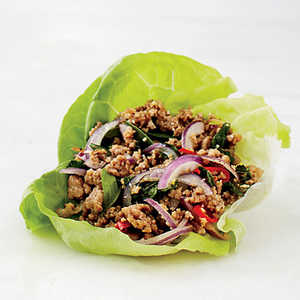 Pork Larb Lettuce WrapRecipe