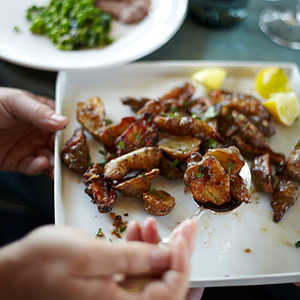 Roasted Sunchokes with Buttery Bagna CaudaRecipe