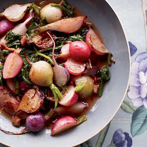 Sauteed Radishes with Orange ButterRecipe