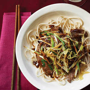 Beef Stir-Fry with Fresh and Pickled GingerRecipe