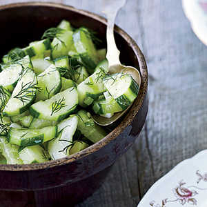Braised Cucumbers with DillRecipe