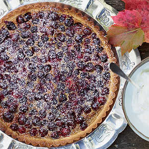 Brown Sugar-Cranberry TartRecipe