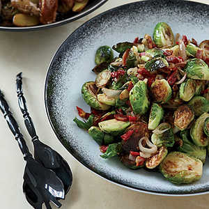 Caramelized Brussels Sprouts with PancettaRecipe