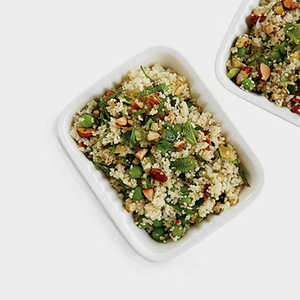Couscous Salad with Zucchini and Roasted AlmondsRecipe