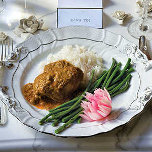 Curried-Coconut Chicken Rendang Recipe
