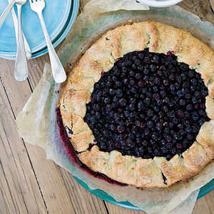 Free-Form Blueberry Tart Recipe