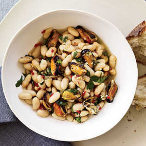 Mussel-and-White-Bean Stew Recipe
