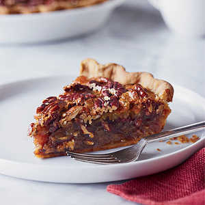 Pecan Pie with Candied Ginger and Rum Recipe