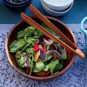 Spinach Salad with Citrus and Roasted BeetsRecipe