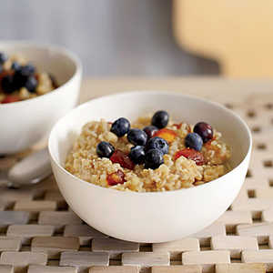 Three-Grain Cereal with Dates and Cinnamon Recipe