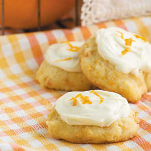 Iced Carrot Cookies Recipe