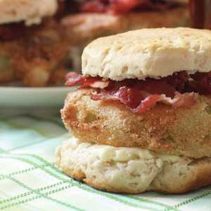 Fried Green Tomato BiscuitsRecipe