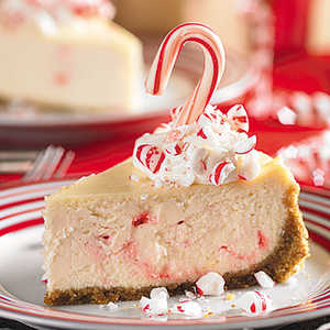 Peppermint Candy CheesecakeRecipe