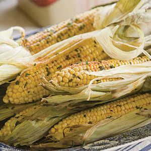 Herb-Buttered Grilled Corn Recipe
