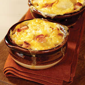 Scalloped Potatoes & HamRecipe