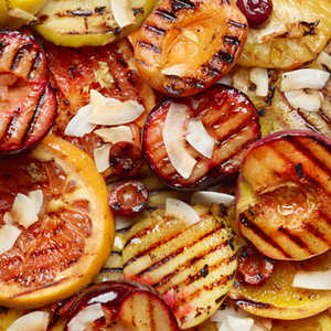 Ginger Grilled Fruit