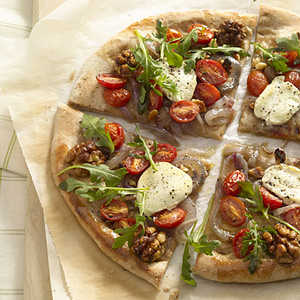 arugula-goat-cheese-pizzaRecipe